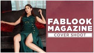 Fablook Magazine August Cover Shoot Sneak Peek   Gauahar Khan