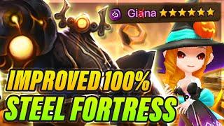 Steel Fortress B10 Cheat Code! 80% Giana! - FAST 100% Team! - Summoners War UPDATE 6.0