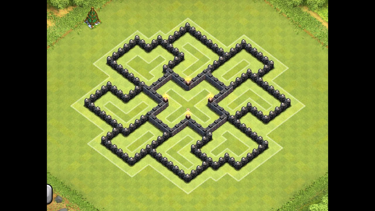 Epic town hall 7 th7 farming base the armoris clash of clans