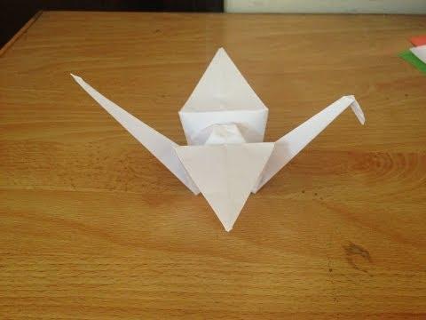 Cách gấp hạc giấy   Origami Swan - how to make Swan (cygne,cisne)