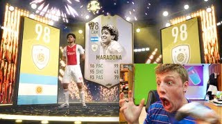 Download I PACKED MARADONA!!! - TEAM OF THE SEASON PACK OPENING FIFA 19 Mp3 and Videos