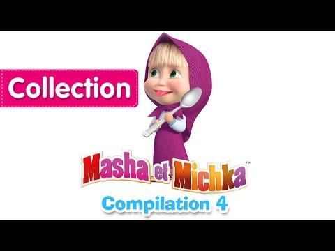 Masha et Michka - Сompilation 4 (20 minutes) Dessins animés en Français 2016!