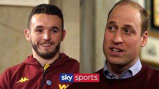 John McGinn interviews the Duke of Cambridge on mental health and why he supports Aston Villa