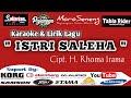 Istri Saleha Cover Gendang Karaoke + Teks