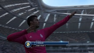 Pro Evolution Soccer 2015 Juventus F.C. Vs Real Madrid PC Gameplay