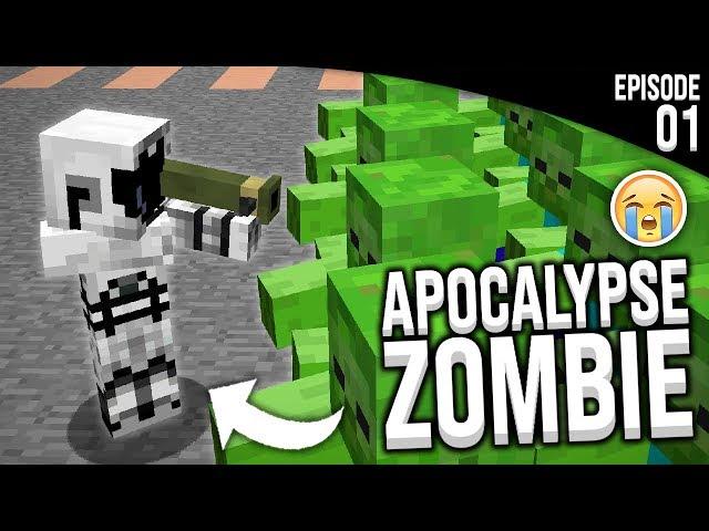 JE DOIS SURVIVRE A LA FIN DU MONDE... - Episode 1   Minecraft Apocalypse