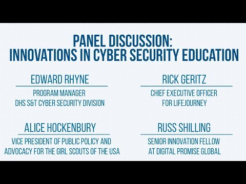 2017 R&D Showcase: Innovations in Cyber Security Education Panel