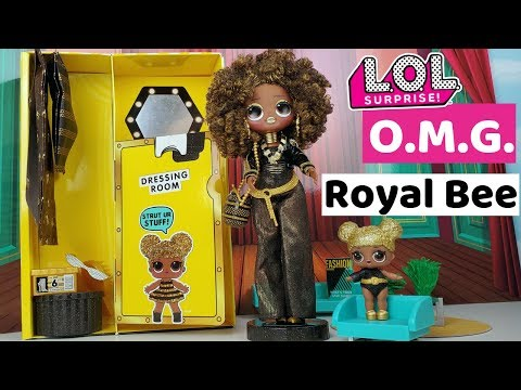LOL Surprise OMG Royal Bee Big Sister Fashion Doll Unboxing Review Pretend Play | Candy Toy Show