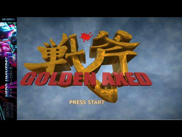 Golden Axed - Der Prototyp des Reboots der nie stattfand - Nostalgie Zocks ☬ Sega Jubiläum | Deutsch