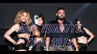 Azis Live BURSA 2014 TURKEY Tour | Азис | Eskişehir, Istanbul Konser 2014