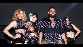 Azis Live BURSA 2014 TURKEY Tour   Азис   Eskişehir, Istanbul Konser 2014