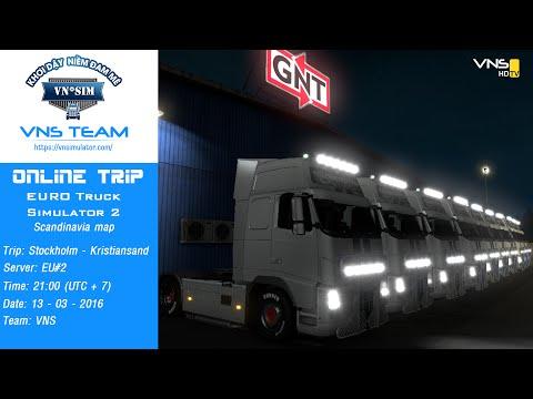 [ETS2] Hành trình phượt 13/03 - Hội tụ tay lái lâu năm - Euro Truck Simulator 2 Multiplayer Online