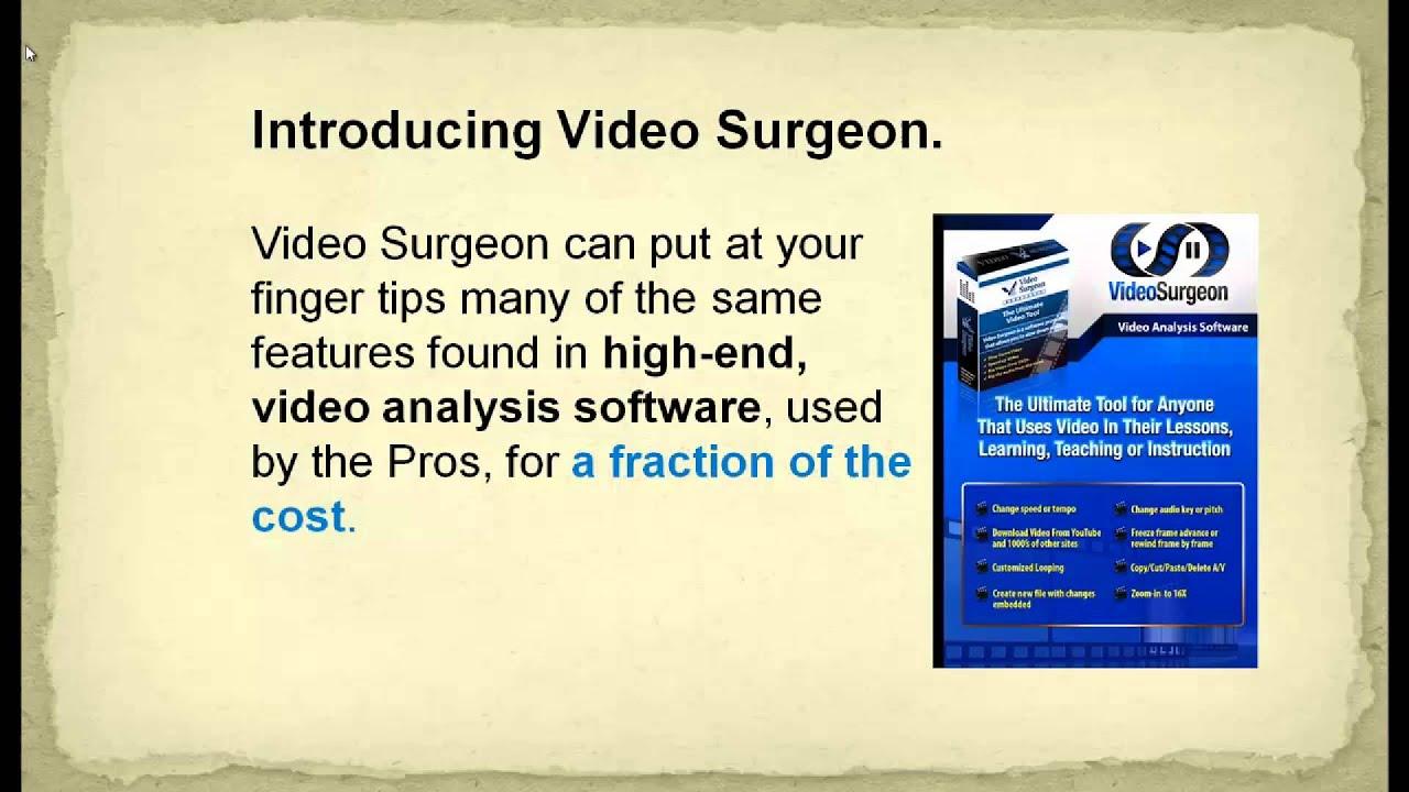Video Surgeon Launch - JVZoo Affiliate