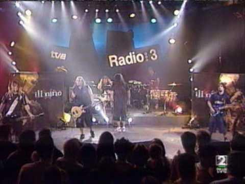 Ill Niño  I Am Loco Live Radio Spain