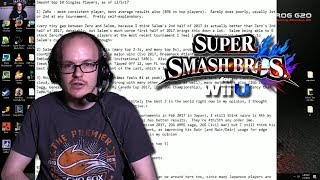 M2K Gives His 2017 Top 10 Smash 4 Rankings
