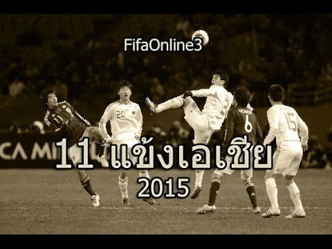 Asia best 11 player 2015