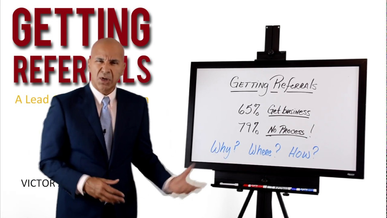 Sales Mastery Academy - Getting Referrals Introduction (Video Series)