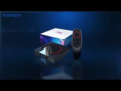 Topleo Latest i96 Pro Allwinner H616 6K 4GB 32GB 64GB 2.4G 5G dual wifi android 10.0 smart tv box