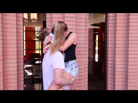 Kissing Prank   Acting Out The Notebook With Girls