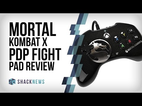 Mortal Kombat X - PDP Fight Pad Review