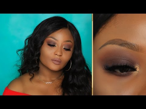 Beginner Friendly Brown Smokey Eye Makeup Tutorial