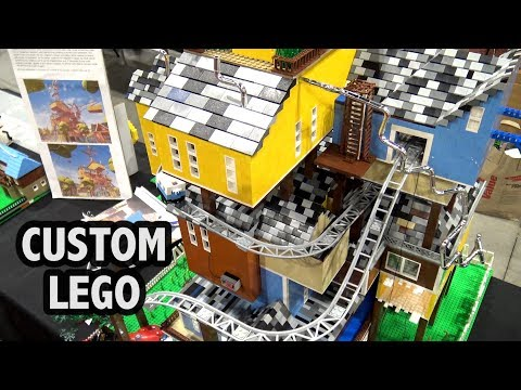 Hello Neighbor House in LEGO | Brickworld Chicago 2018