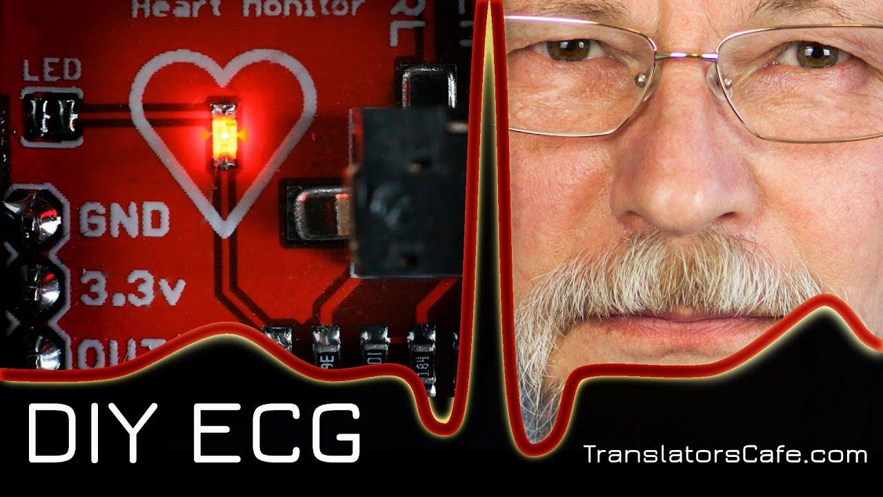 DIY ECG - YouTube