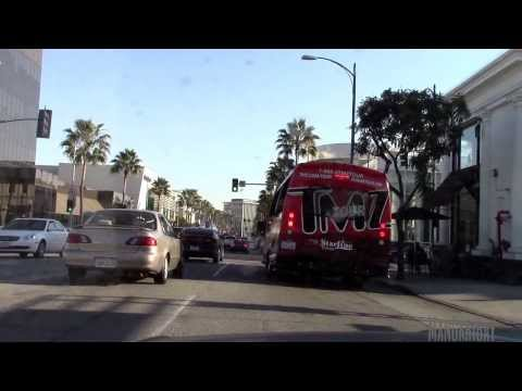 Driving Through West Hollywood's Sunset Strip & Rodeo Drive in Beverly Hills