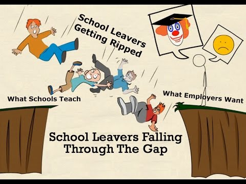 School Leavers Falling Through The Gap Between School & Employment by Jeff Muir
