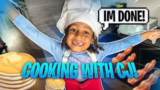WE MADE THE KIDS COOK THEIR OWN BREAKFAST !!!