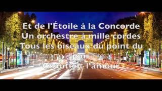 Joe Dassin - Champs-E�lyse�es [Paroles]