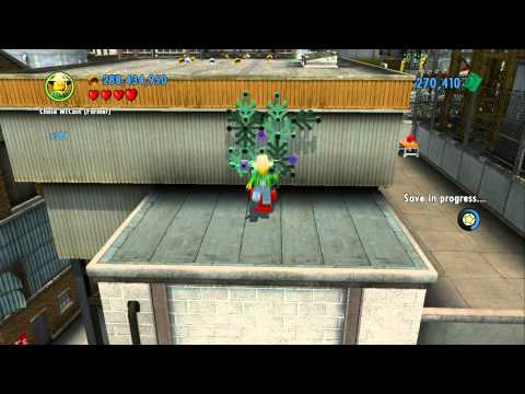 LEGO City Undercover 100% Guide - Auburn (Overworld Area) - All Collectibles