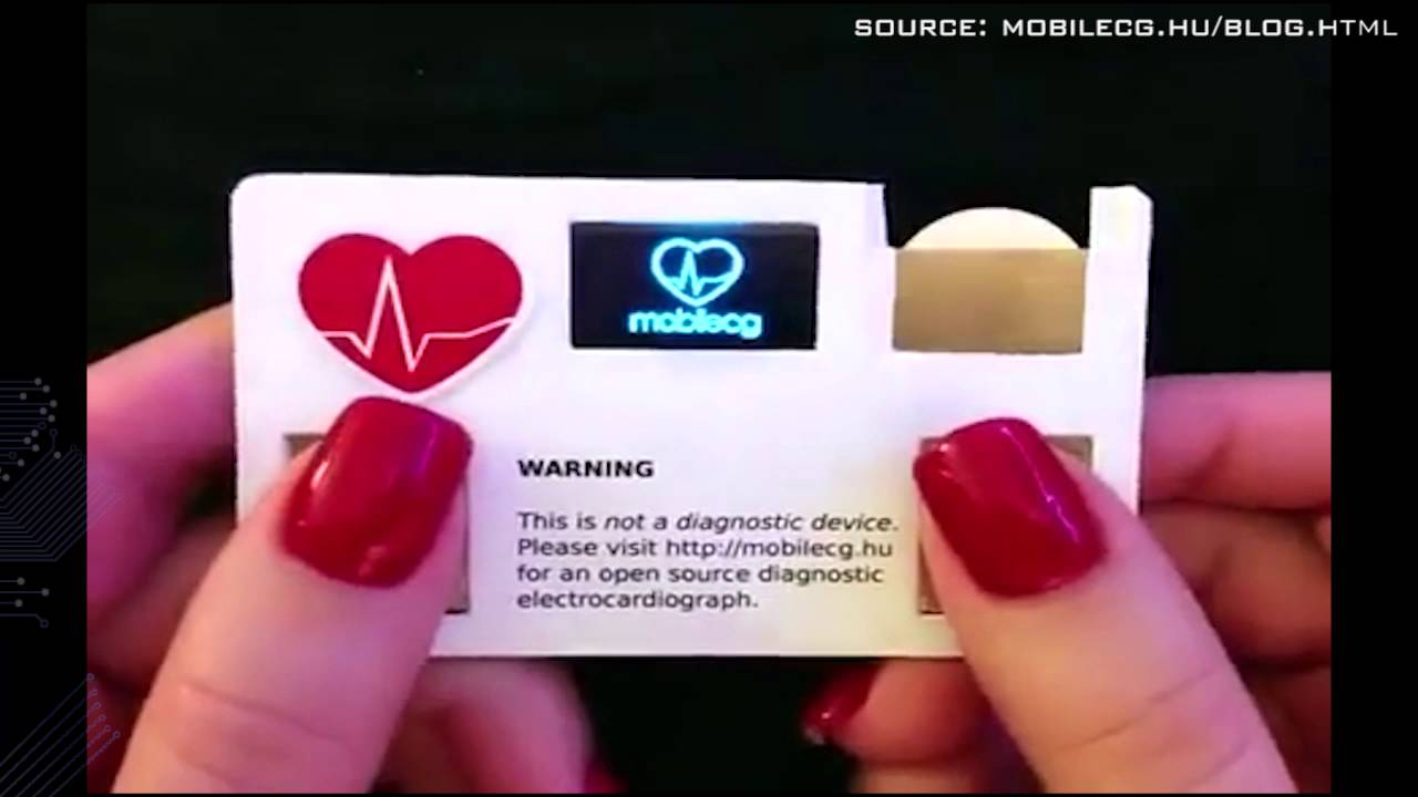 Mobil ECG Business Card - YouTube