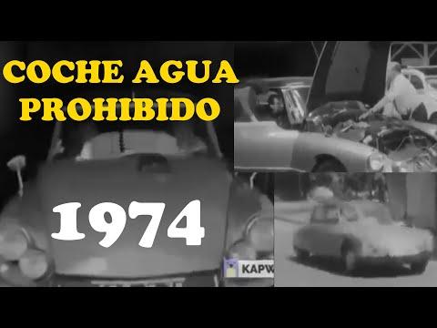 Coche Motor Agua prohibido 1974 para que sigas siendo pobre