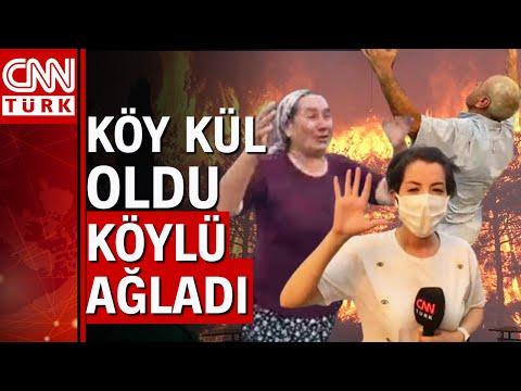 CNN Türk ekibi Manavgat'ta alevlerin arasında… Yangın durdurulamıyor!