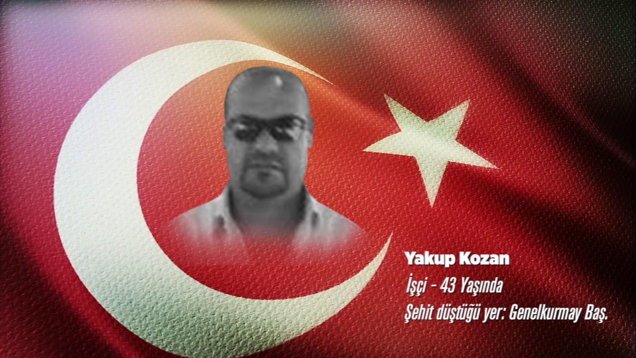 15 Temmuz Şehidi Yakup Kozan