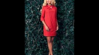 Прямое платье. Моделируем.