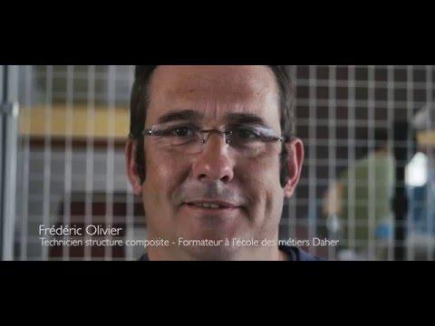 Frederic Ollivier, structure composite technician