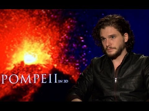 Kit Harington & Emily Browning Take You Inside the Making of Pompeii 3D