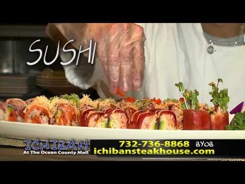 Ichiban Japanese Steakhouse Ocean County Mall Toms River NJ TV Commercial