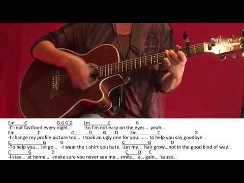 I help you hate me-Sunrise Avenue/Guitar/Tutorial/Cover/Chords/Lyrics/easy