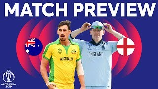 Match Preview - Australia vs England | ICC Cricket World Cup 2019