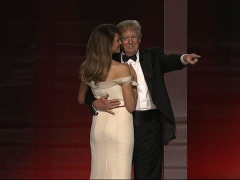 Trump Pokes Fun at Twitter Use During Ball