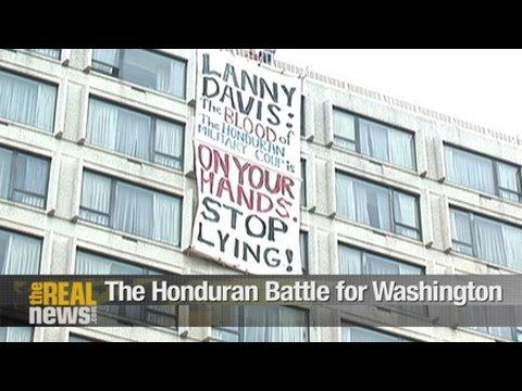 The Honduran Battle for Washington
