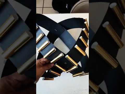 Cómo hacer carrilleras de cartulina y papel metálico 👌🏻 - YouTube