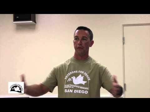 US Marine Speaks Out @ Veterans for Peace San Diego