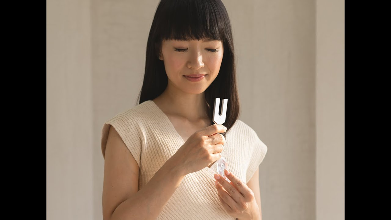 Stories   How to Use a Tuning Fork   KonMari