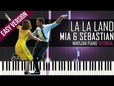 how to play mia sebastian 39 s theme la la land soundtrack piano tutorial easy sheets. Black Bedroom Furniture Sets. Home Design Ideas