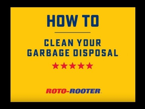 How To Clean Your Garbage Disposal | Roto-Rooter