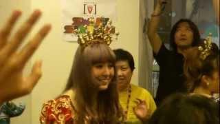 Berryz Kobo @Japan Bravo, Channel V Thailand 20120824